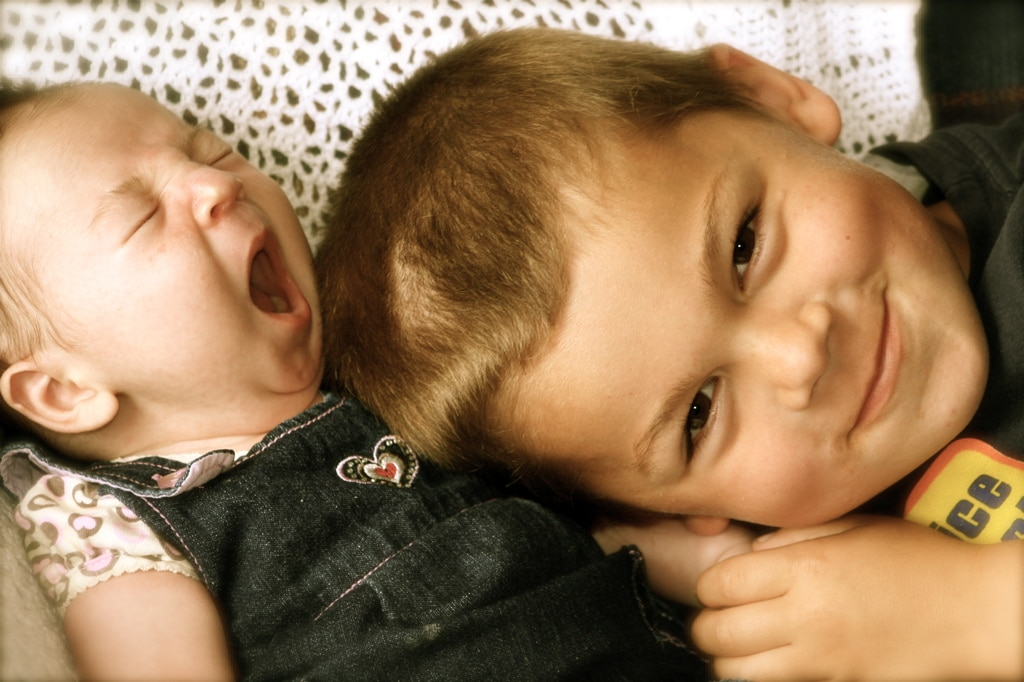 Children with baby siblings don't get less parental attention: new study challenges conventional wisdom