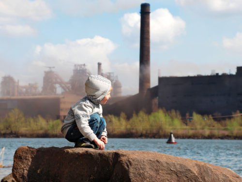 pollution and children