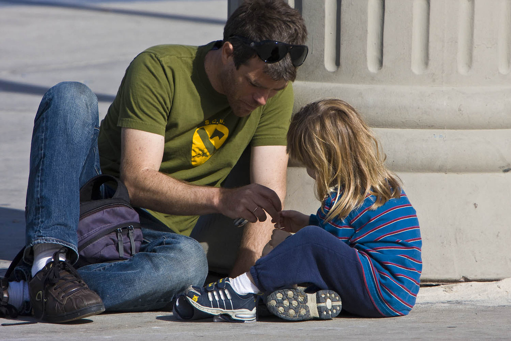 Sensitive fathering protects family harmony when the mother is depressed