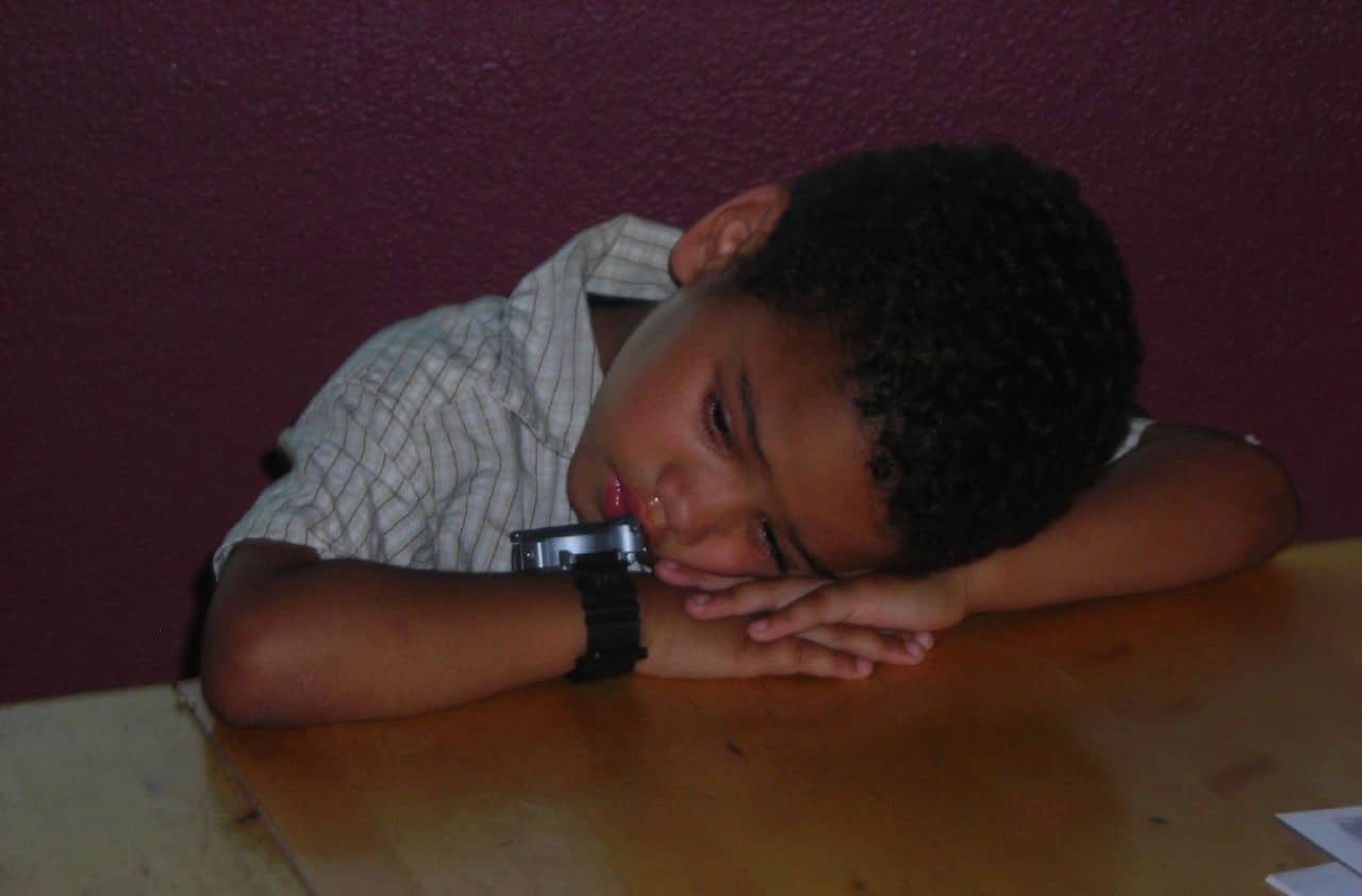 A decrease in sleep efficiency is linked to lower cognitive functioning in boys and in African American children
