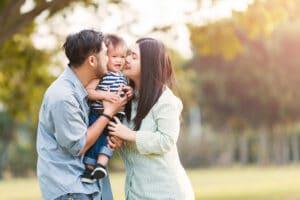 child development family father