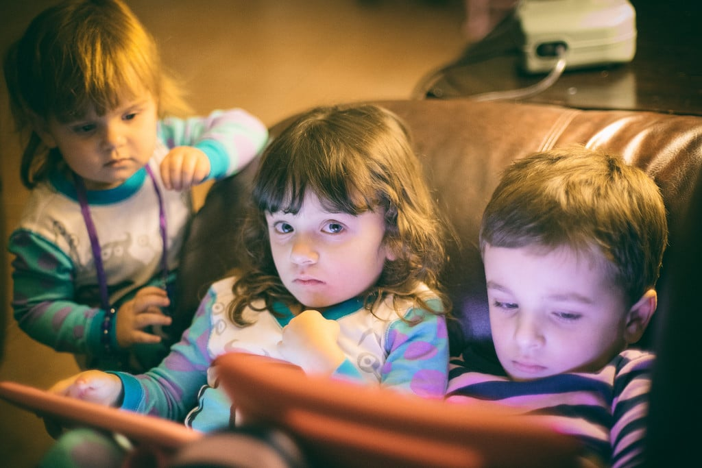 Screen time is linked to slower early childhood development